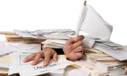 Mounds of Paperwork