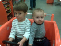 My Boys At The Home Depot