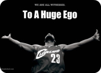 We Are All Witnesses To A Huge Ego