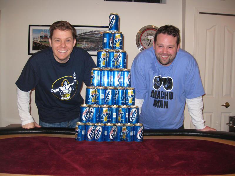 Beeramid 2010 - Row #7 - A Beeramid Record!!!
