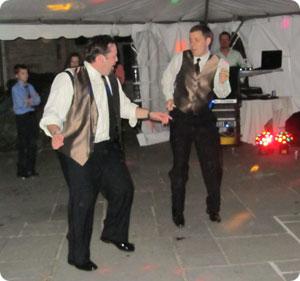 Chewie & Pip On The Dance Floor