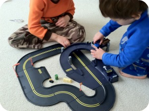 The Boys With Their Racetrack