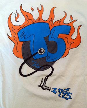 The T5 Flaming Keg Shirt