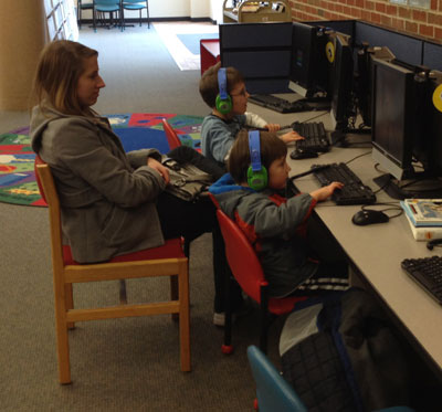The Kids At The Library