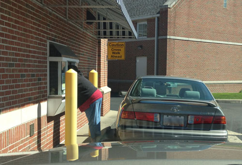 Drive-Through Fail