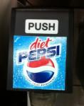 Diet Pepsi Dispenser