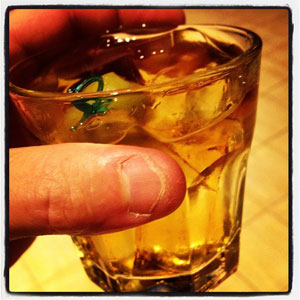 Whiskey - Jack On The Rocks With Olives