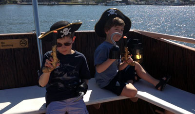 Pirates on the Pieces of Eight