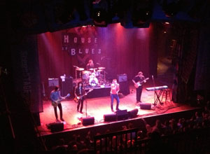 Scott Weiland At The House Of Blues in Cleveland, Ohio