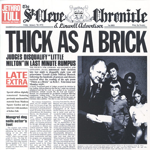 Thick As A Brick – Jethro Tull