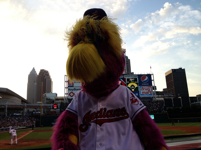 Slider at Progressive Field