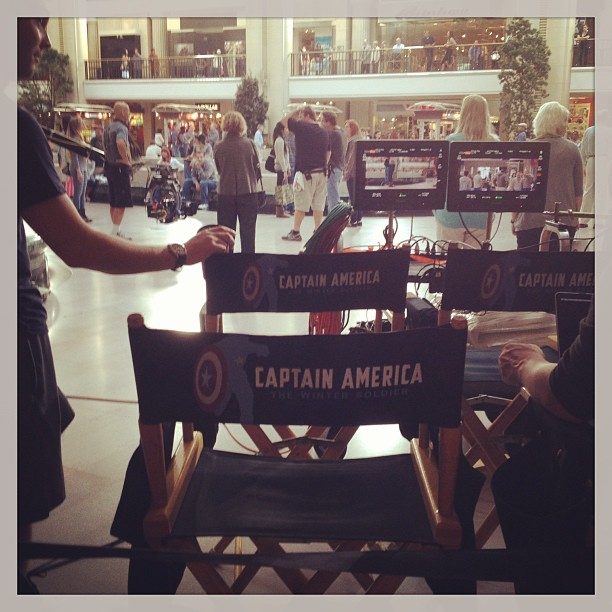 Captain America Filming In Cleveland