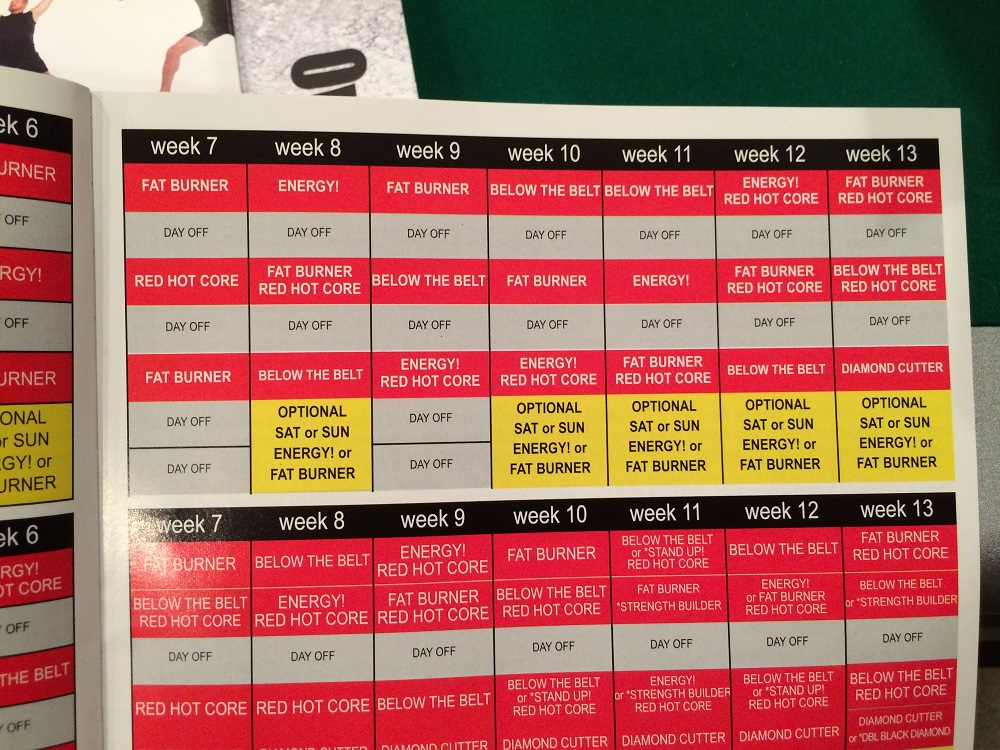 picture about Ddp Yoga Schedule Printable identified as Ddp Yoga Routine