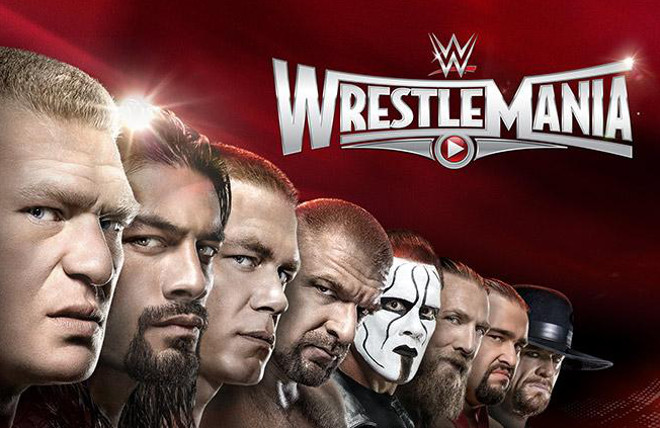 Image result for WrestleMania 31 Poster