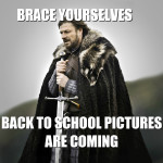 And So It Begins… Back To School