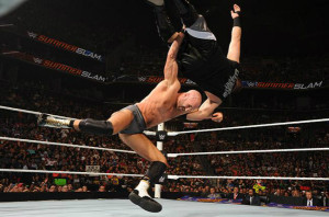 SummerSlam - Cesaro vs Owens