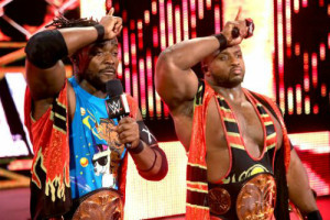 Hell In A Cell 2015 - New Day v Dudley Boyz