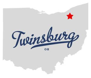 Map of Twinsburg Ohio