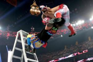 TLC 2015 - Tag Team Ladders