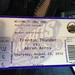Midget Wrestling 2012 - Ticket