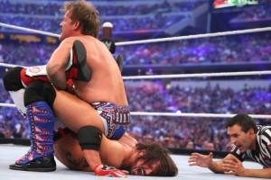 WrestleMania 32 - Jericho vs Styles