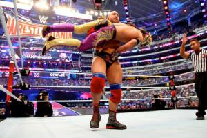 WrestleMania 32 - Kalisto vs Ryback