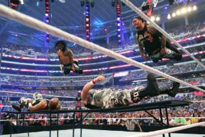 WrestleMania 32 - Usos vs Dudleyz