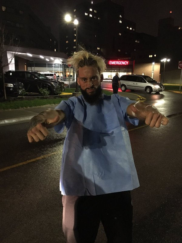 Enzo Amore Released From Hospital