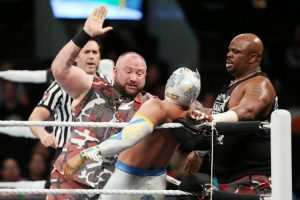 MITB 2016 Lucha Dragons vs Dudley Boyz