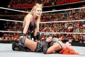 Battleground (2016) - Natalya vs Lynch