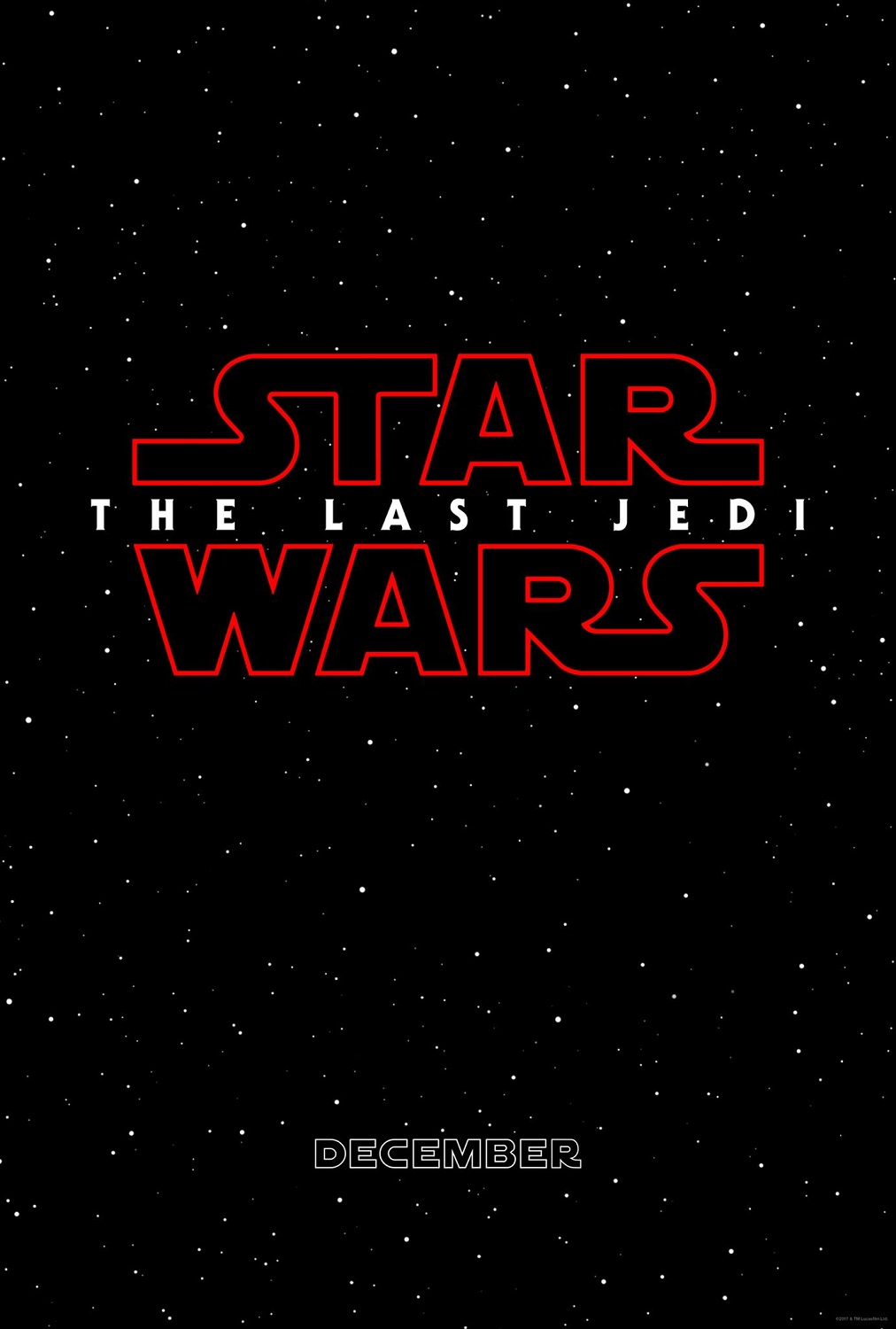 Star Wars Episode VIII - The Last Jedi