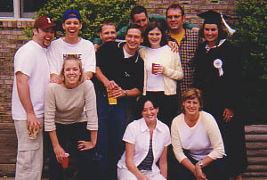 Indiana University Graduation 1999