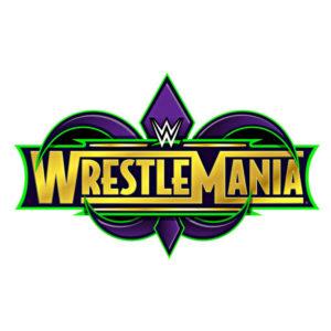 WrestleMania 34 Logo Square