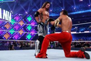 WrestleMania 34 - AJ vs Nakamura