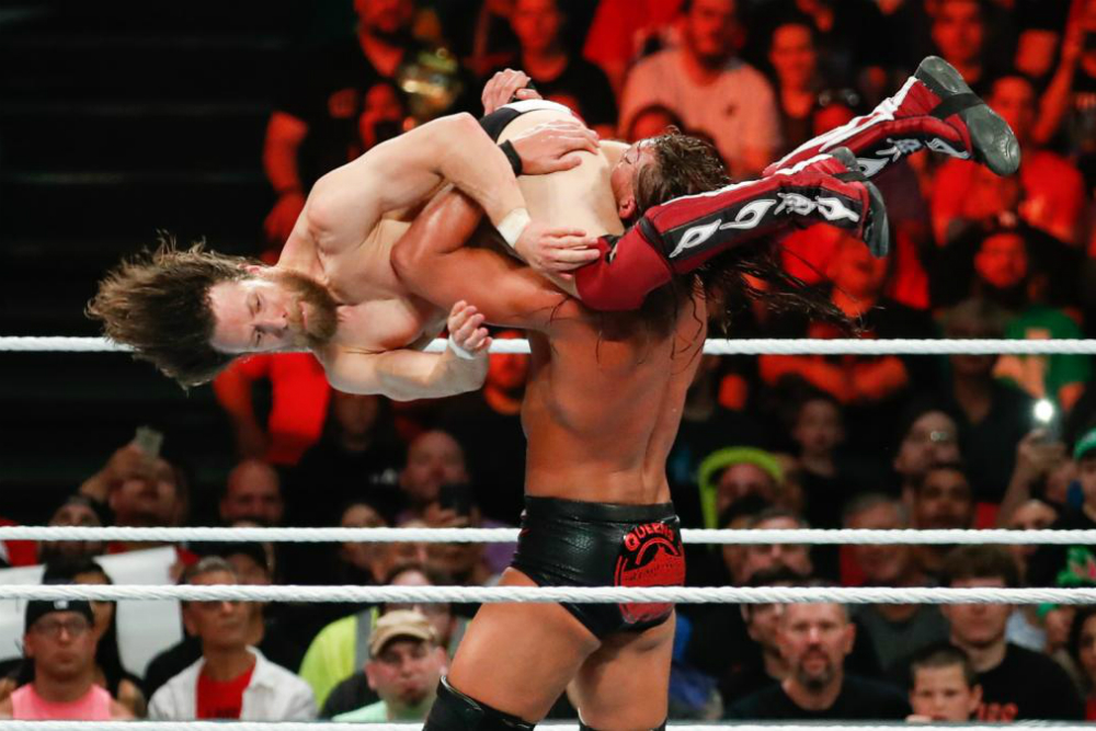 Money In The Bank (2018) Bryan vs Cass
